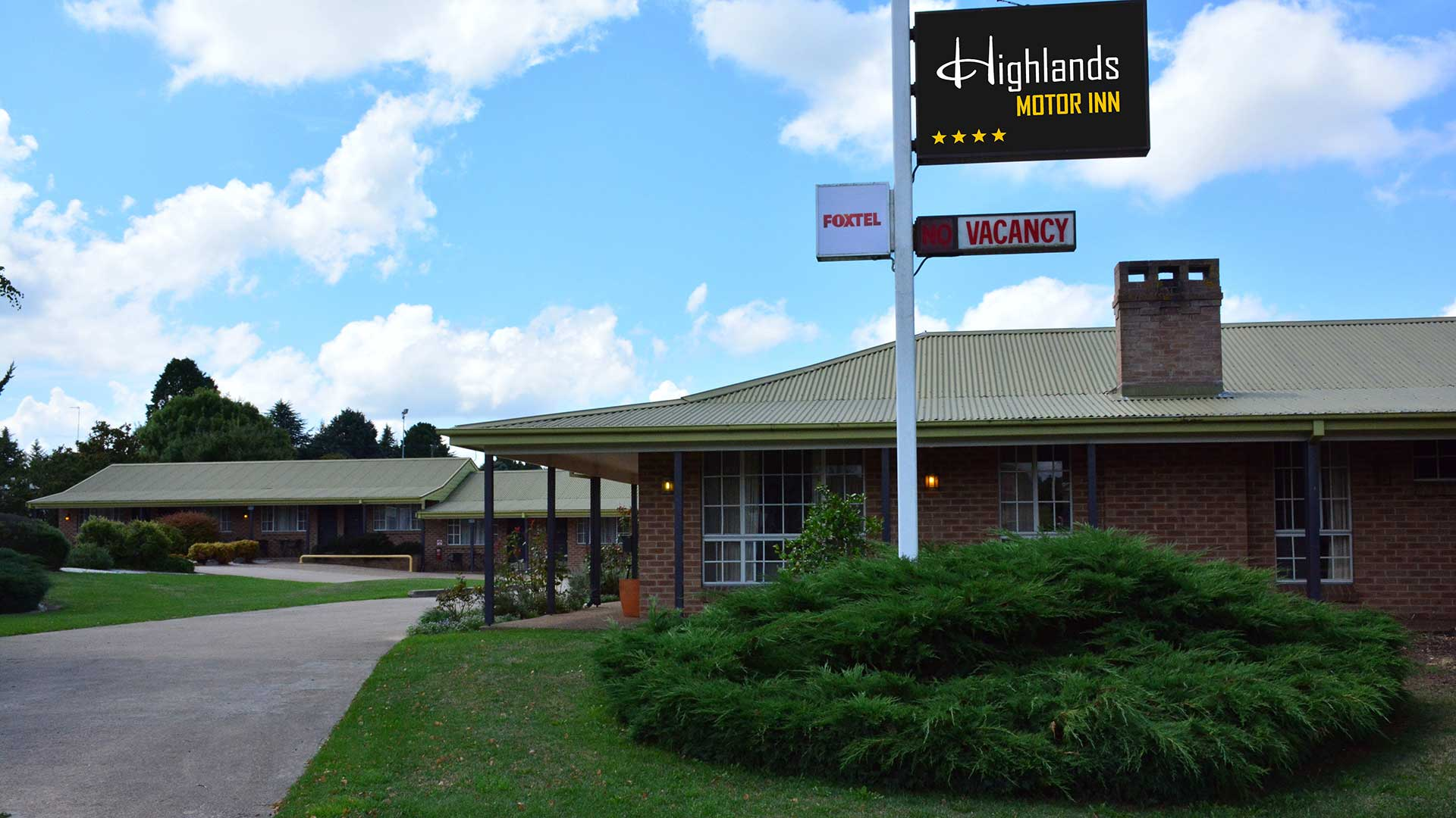 Accommodation - Highlands Motor Inn | Visit Oberon