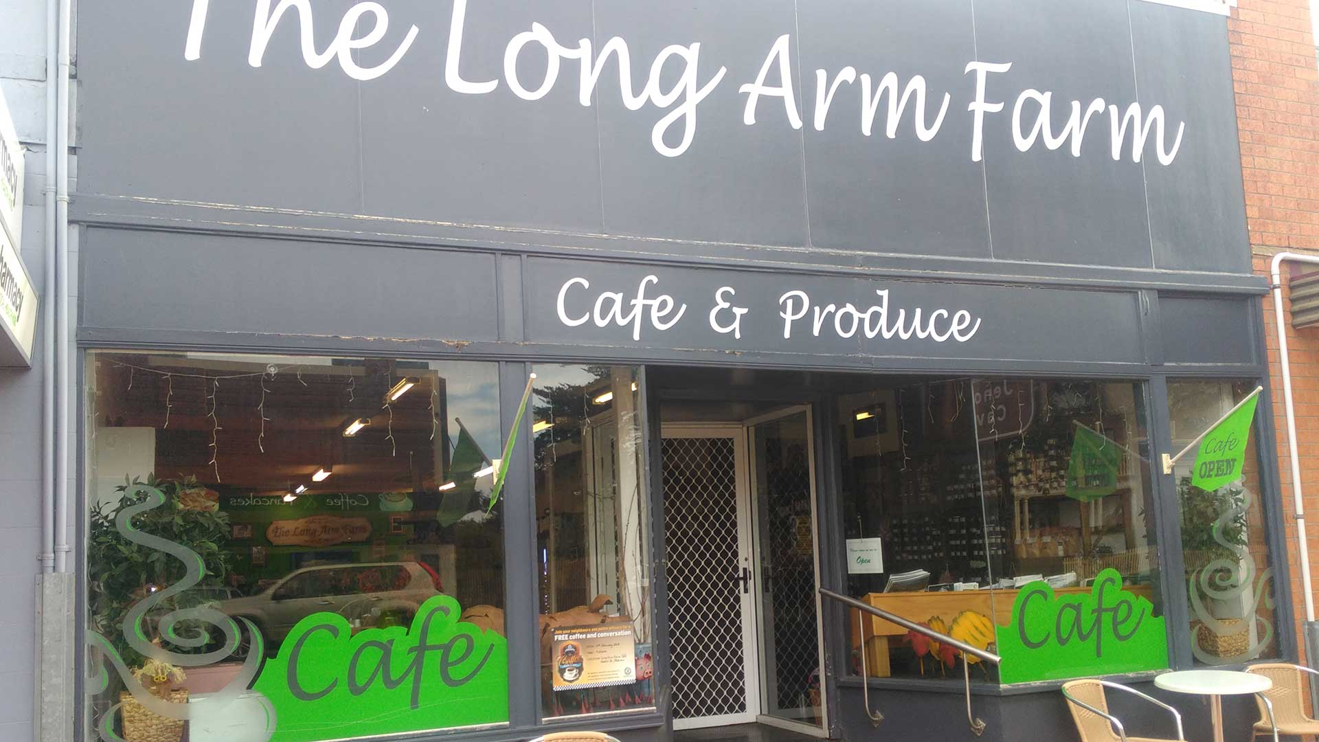 Cafe - The Long Arm Farm Cafe | Visit Oberon